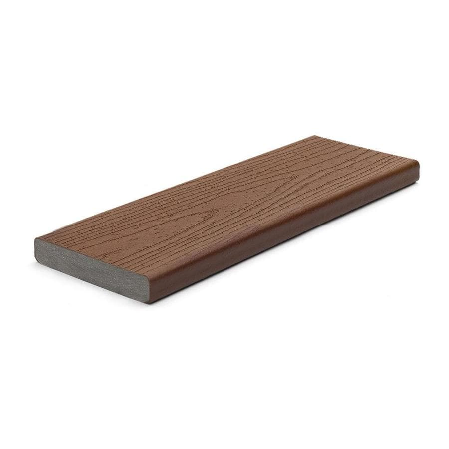 Trex (Actual: 0.94 x 5.5 x 20.0) Enhance Saddle Square Composite Deck Board