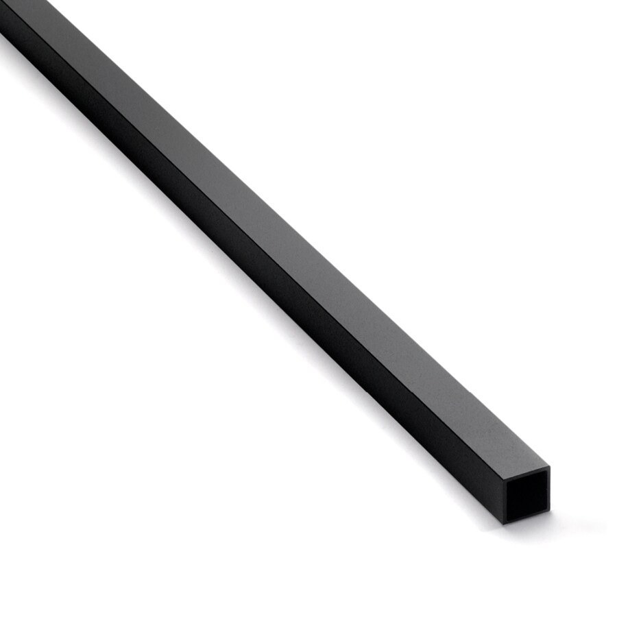 Trex (Actual: 0.75-in x 0.75-in x 30.25-in) Transcend Charcoal Black Aluminum Deck Baluster