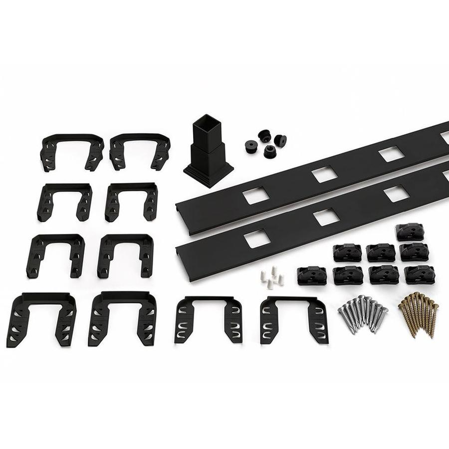 Trex 91.5-in Accessory Infill Kit for Square Aluminum Balusters-Stair-Charcoal Black