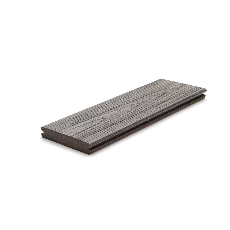 Trex Transcend Island Mist Deck Board Sample
