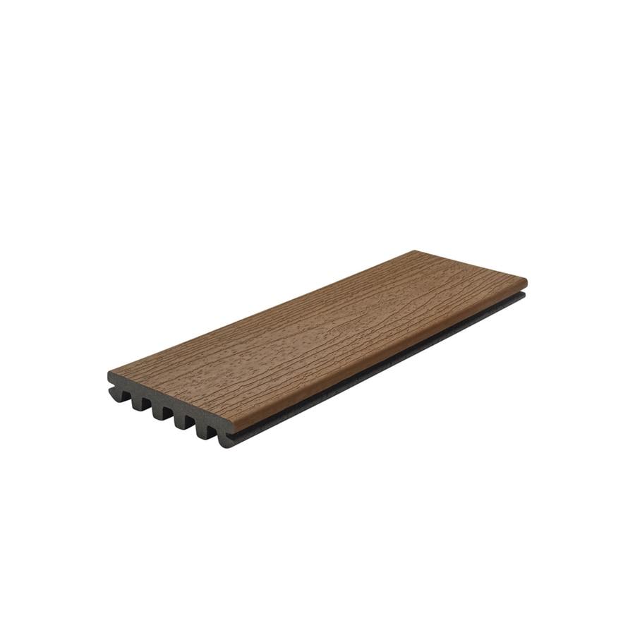 Trex Enhance Basics 12 Ft Saddle Grooved Composite Deck