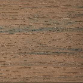 Trex Naturals 12 Ft Toasted Sand Grooved Composite Deck Board