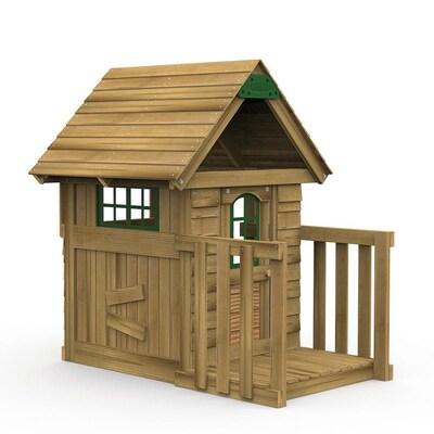 Playstar Wood Playhouse Kit At Lowes