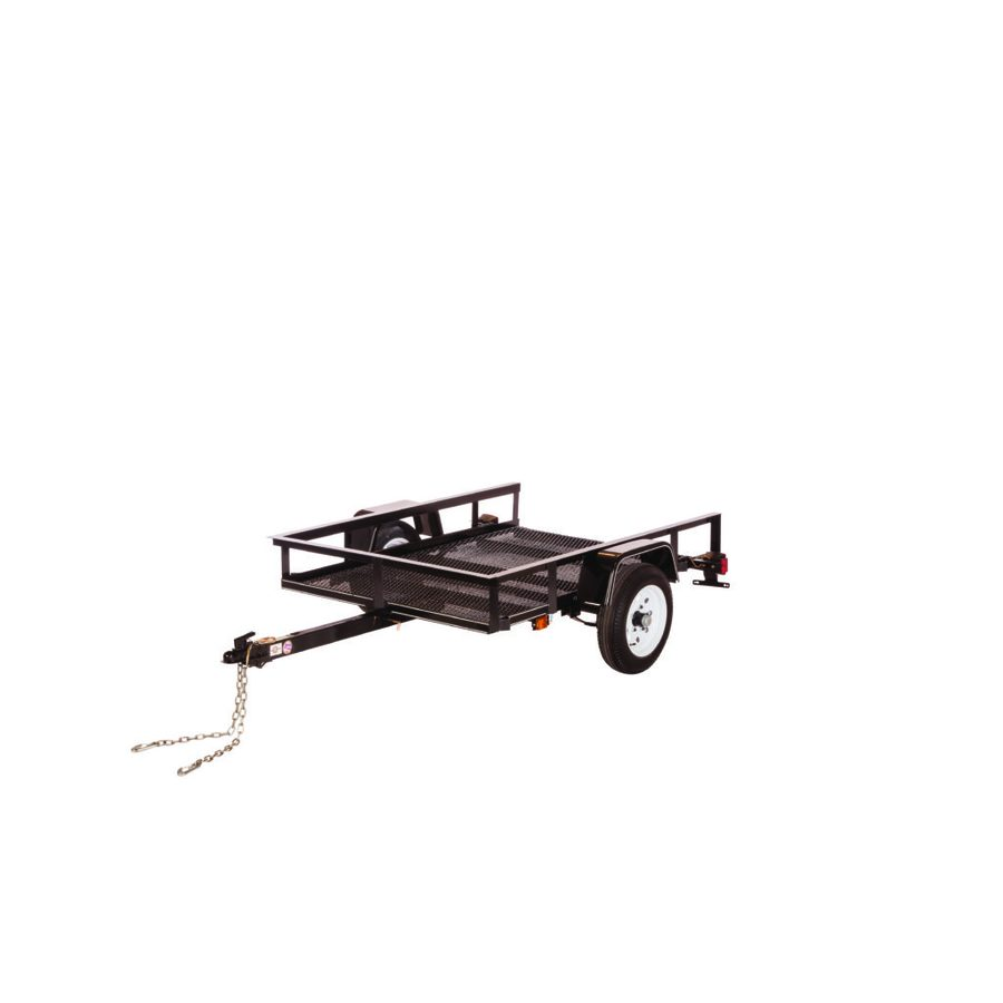 Carry-On Trailer 4' x 8' Mesh Floor Utility Trailer