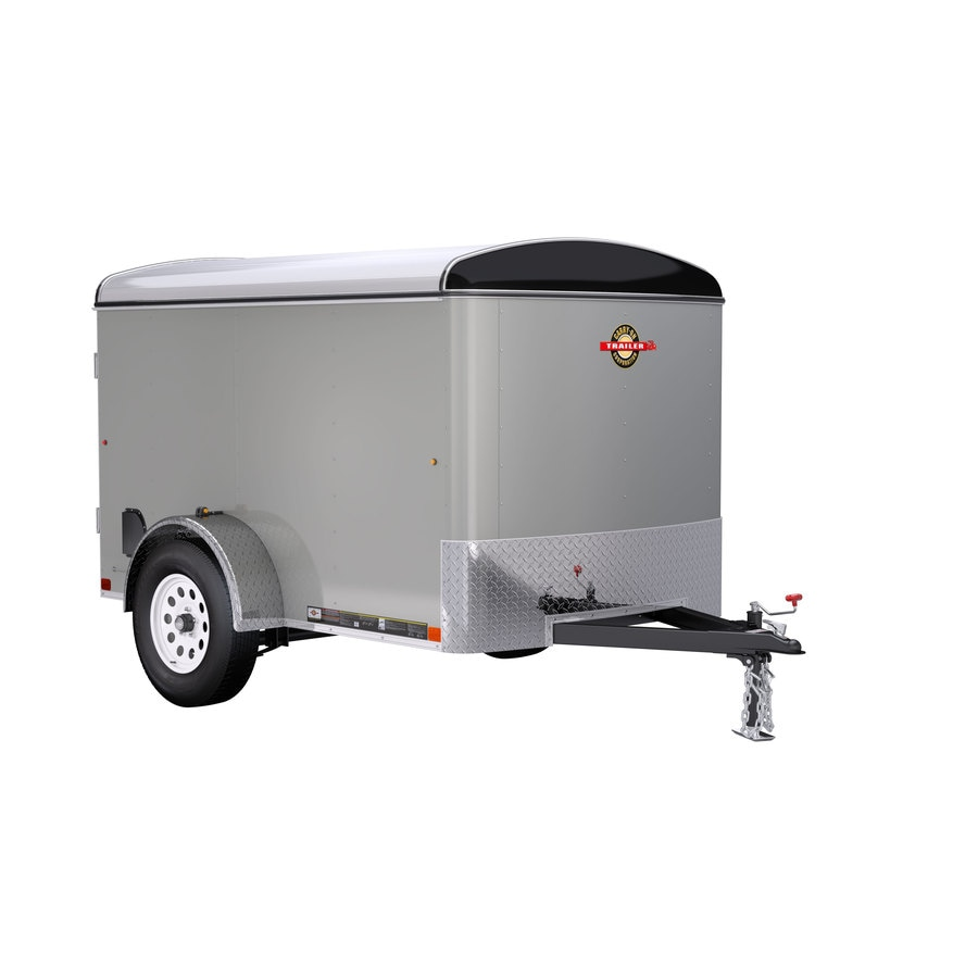 Utility Trailers: Carry-On Trailer 5-ft X 8-ft Enclosed Trailer At Lowes.com