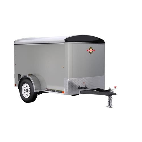 Carry-On Trailer 5-ft X 8-ft Enclosed Trailer In The