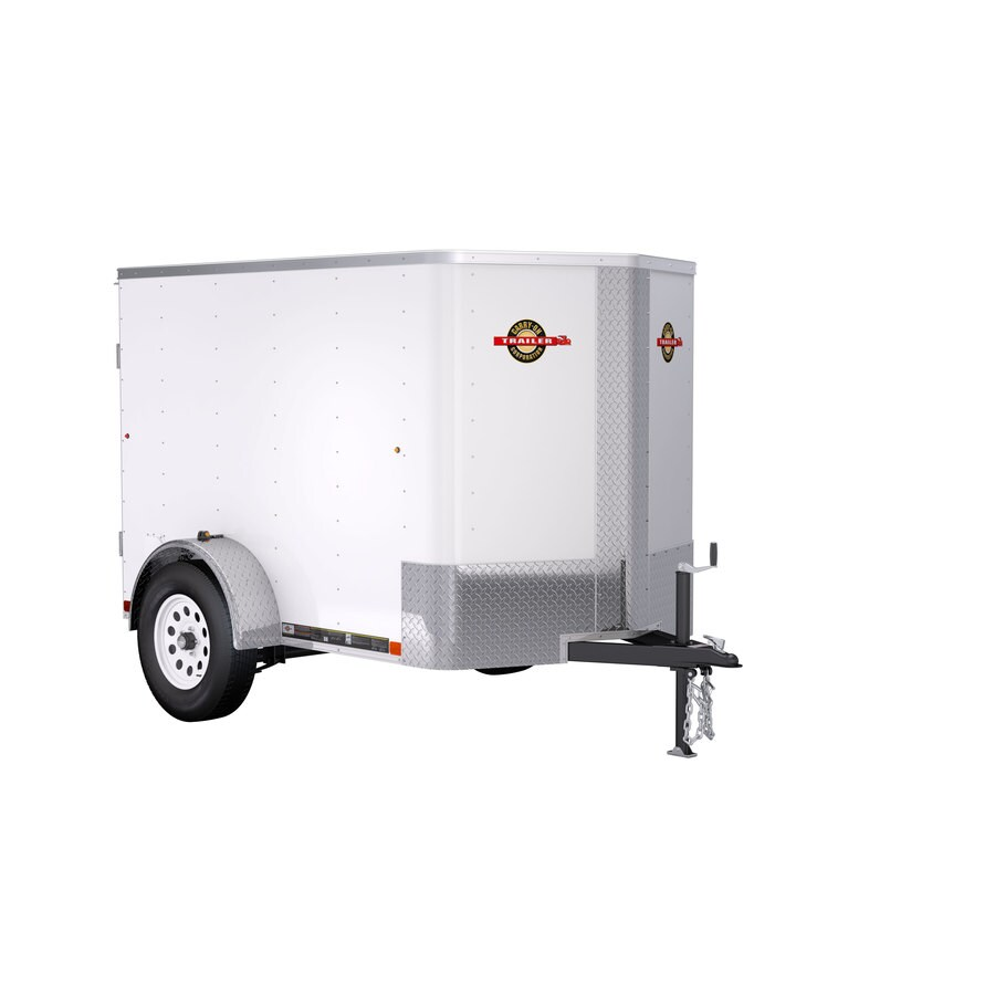 Delicieux Carry On Trailer 5 Ft X 8 Ft Enclosed Trailer