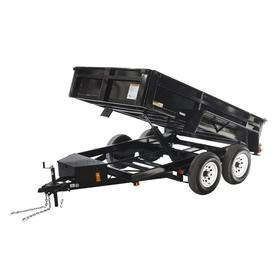 Bon Carry On Trailer 6 Ft X 10 Ft Steel Utility Trailer With Ramp