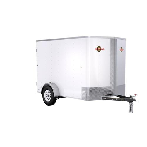 Carry-On Trailer 6-ft X 10-ft Enclosed Trailer In The