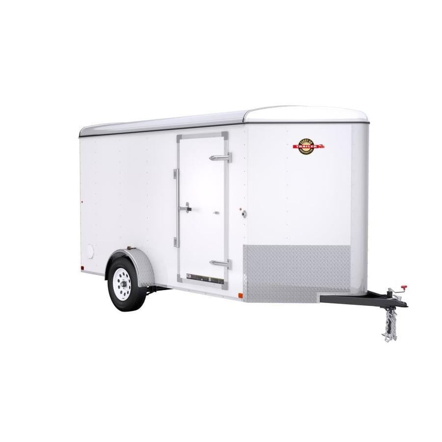 Carry-On Trailer 6-ft x 12-ft Enclosed Trailer