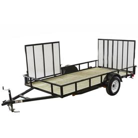 Carry On Trailer 6 Ft X 12 Ft Treated Lumber Utility Trailer With