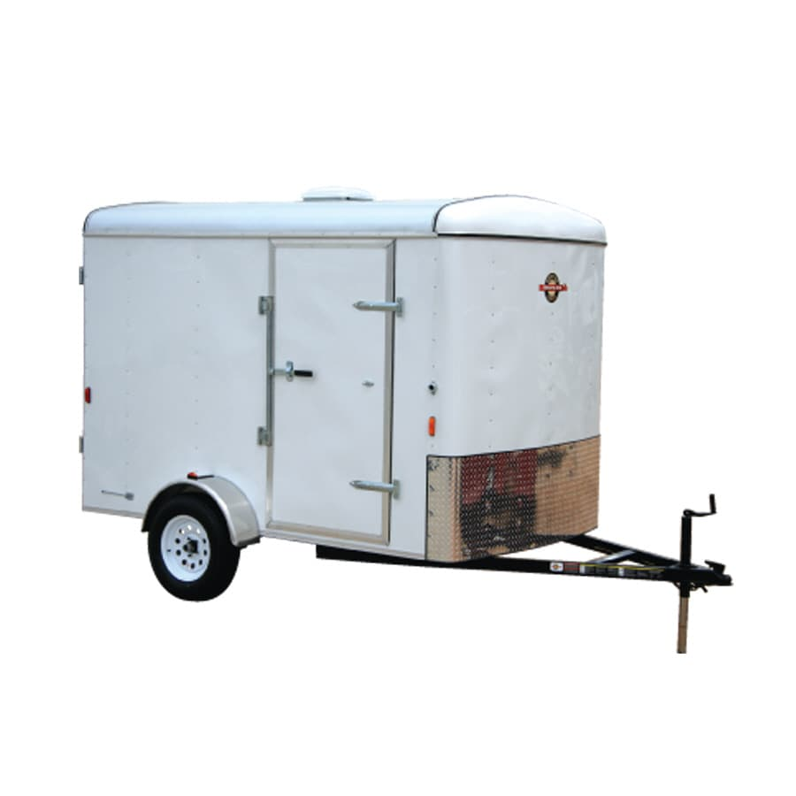 Utility Trailers: Shop Carry-On Trailer 6' X 10' Enclosed Cargo Trailer At