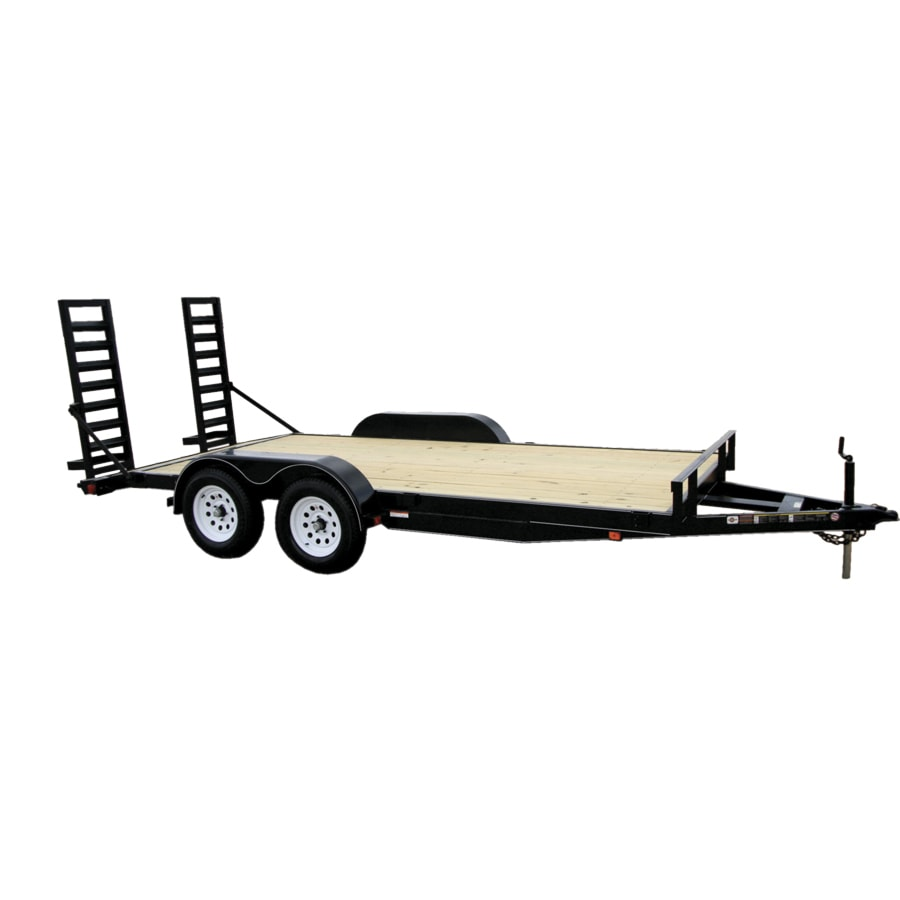Carry-On Trailer 7-ft x 16-ft Treated Lumber Utility Trailer