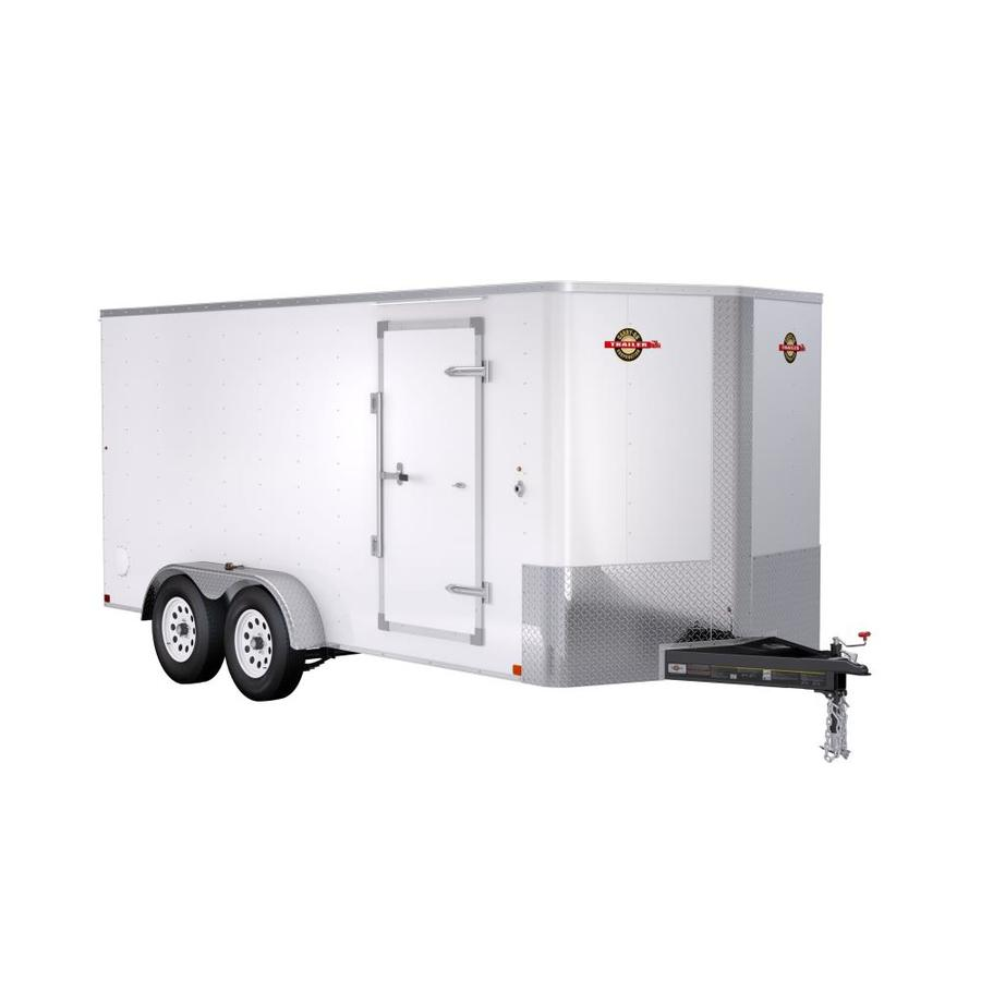 Carry-On Trailer 7-ft x 16-ft Enclosed Trailer