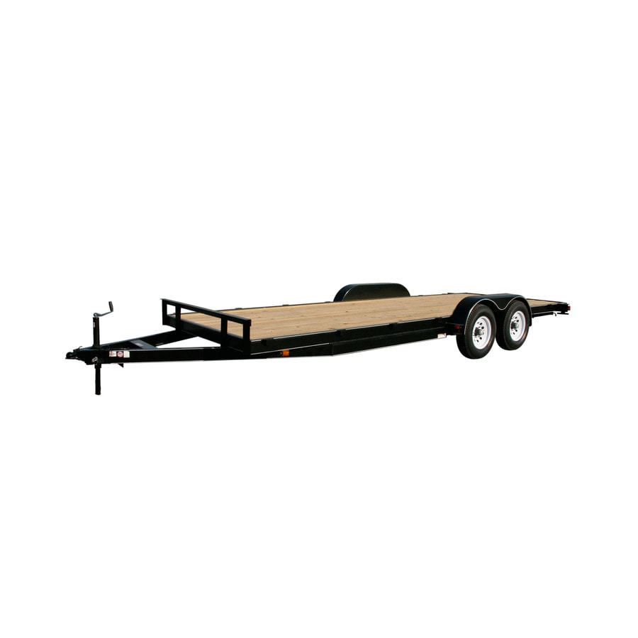 Attrayant Carry On Trailer 7 Ft X 18 Ft Treated Lumber Utility Trailer