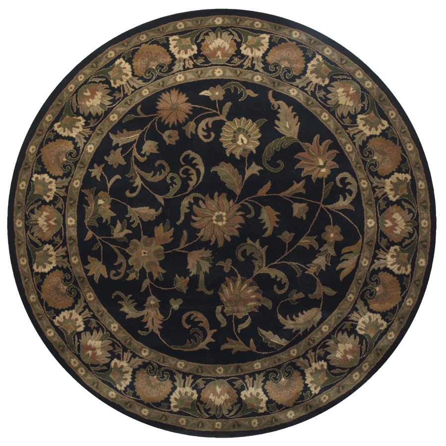 Wakefield Round Indoor Tufted Area Rug