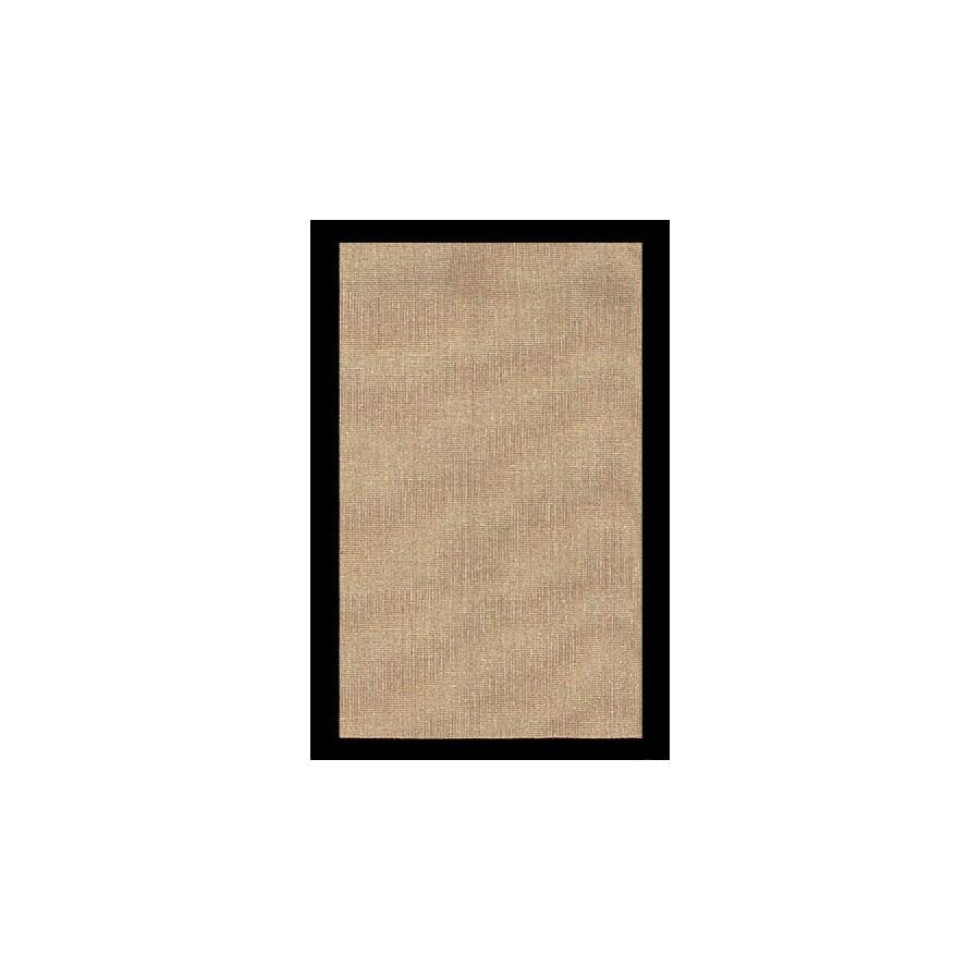 Jute Rectangular Indoor Woven Area Rug (Common: 5 x 8; Actual: 60-in W x 96-in L)