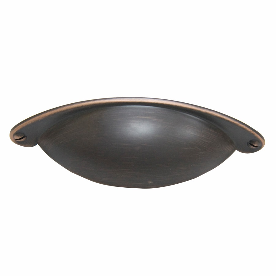 Gatehouse 64mm Center-to-Center Aged Bronze Arched Cabinet Pull