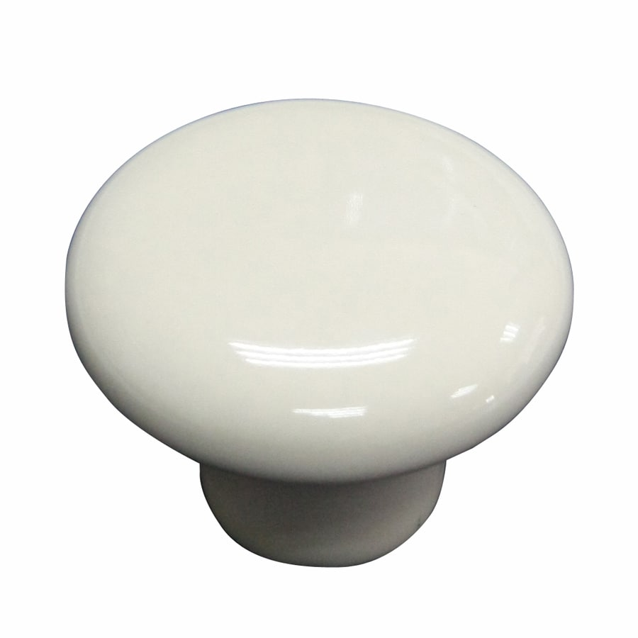 Shop Allen Roth Almond Round Cabinet Knob At Lowes Com