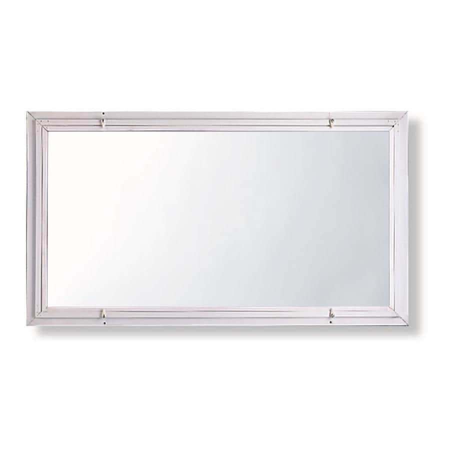 Comfort-Bilt Single-Glazed Basement Aluminum Storm Window (Rough Opening: 32.1875-in x 18.1875-in; Actual: 32-in x 18-in)