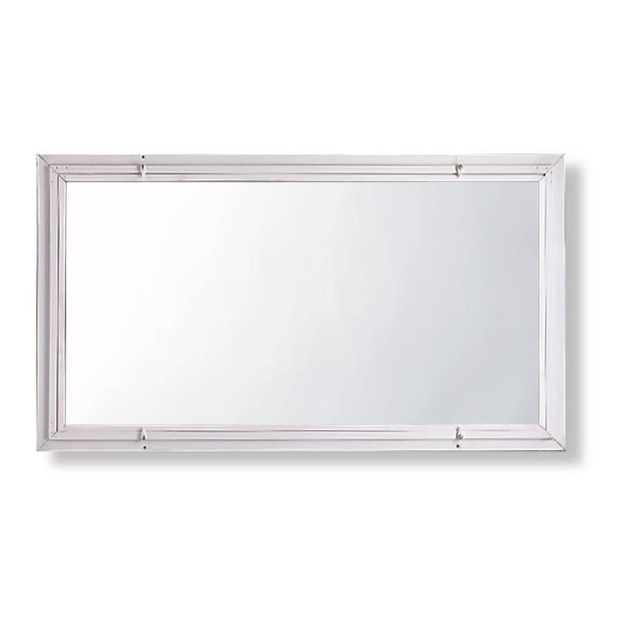 Comfort-Bilt Single-Glazed Basement Aluminum Storm Window (Rough Opening: 32.1875-in x 22.1875-in; Actual: 32-in x 22-in)