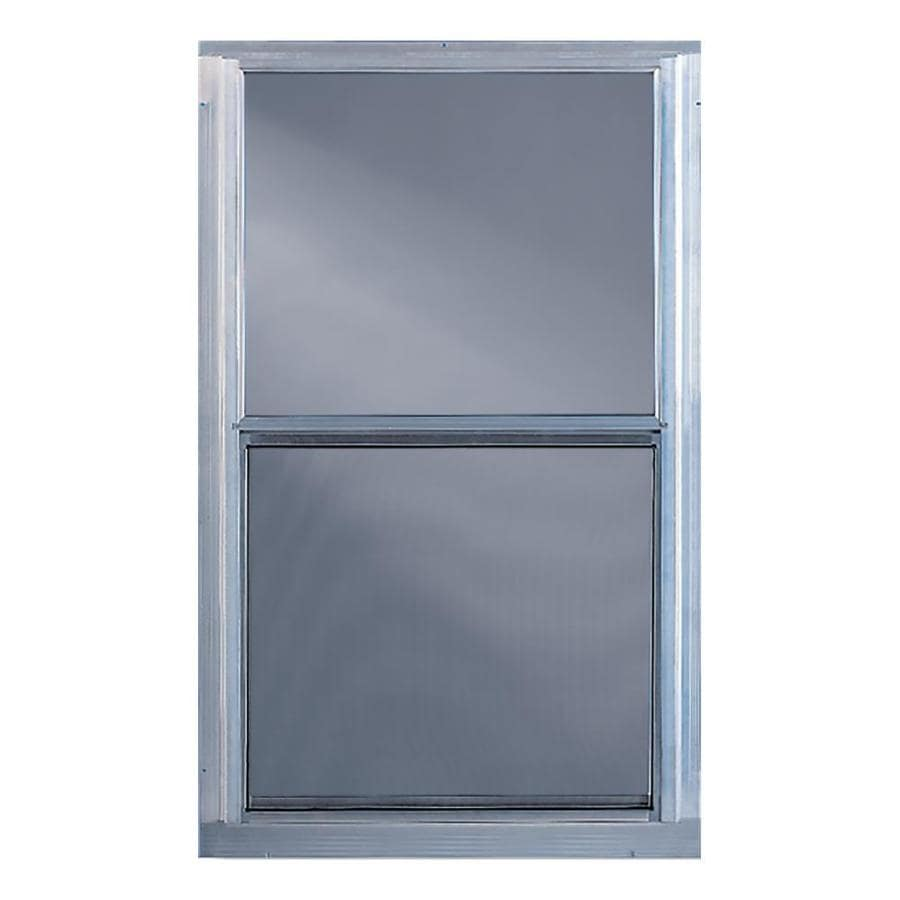 Comfort-Bilt Single-Glazed Aluminum Storm Window (Rough Opening: 28-in x 55-in; Actual: 27-in x 55-in)