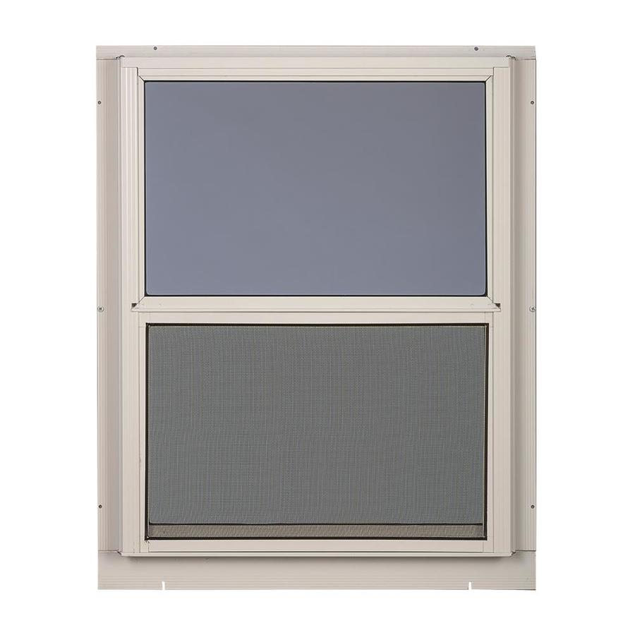Comfort-Bilt Single-Glazed Aluminum Storm Window (Rough Opening: 28-in x 47-in; Actual: 27-in x 47-in)