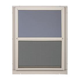 Amazing Comfort Bilt Single Glazed Aluminum White Window (Rough Opening: 28 In