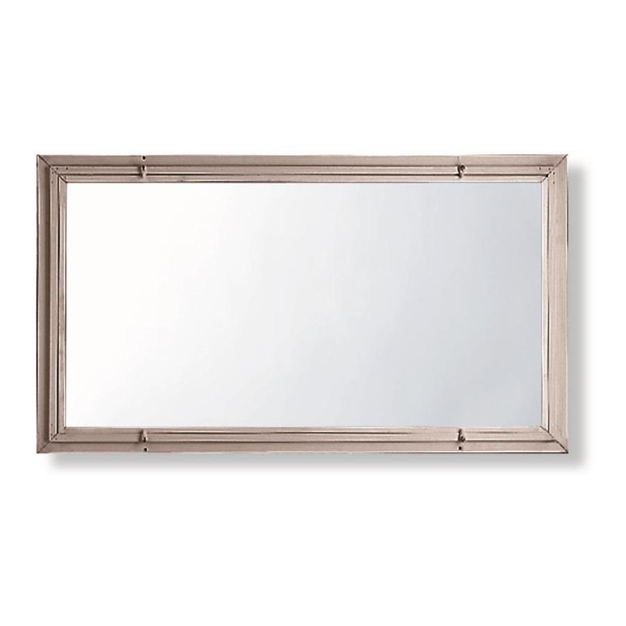 Comfort-Bilt Single-Glazed Basement Aluminum Storm Window (Rough Opening: 32.1875-in x 14.1875-in; Actual: 32.062-in x 14.062-in)