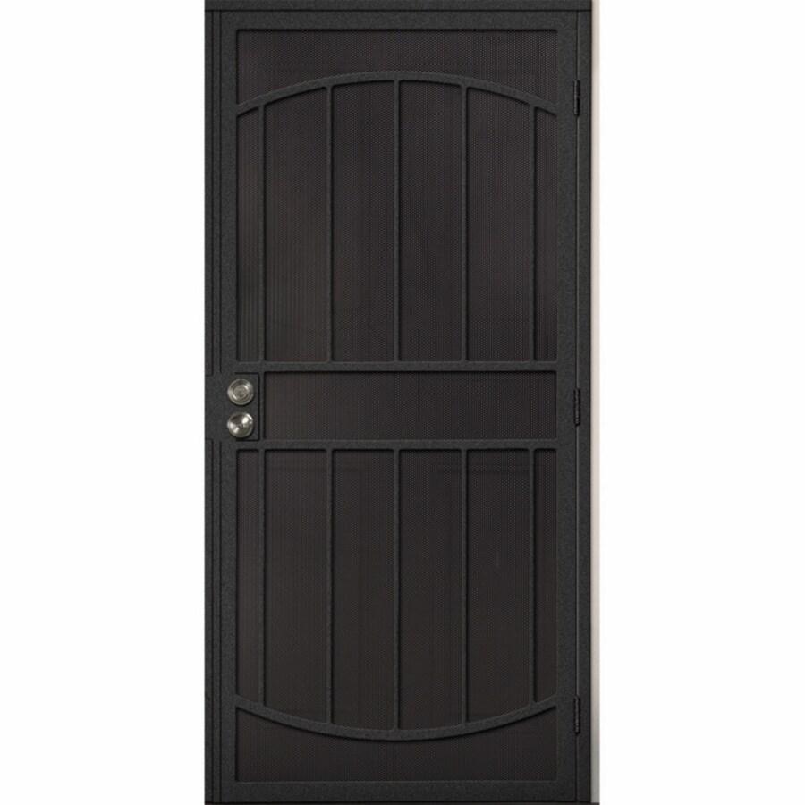 Gatehouse Steel Surface Mount Single Security Door (Common: 36-in x 81-in; Actual: 39-in x 81.75-in)