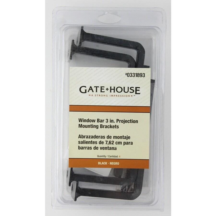 Gatehouse Black Projection Bracket