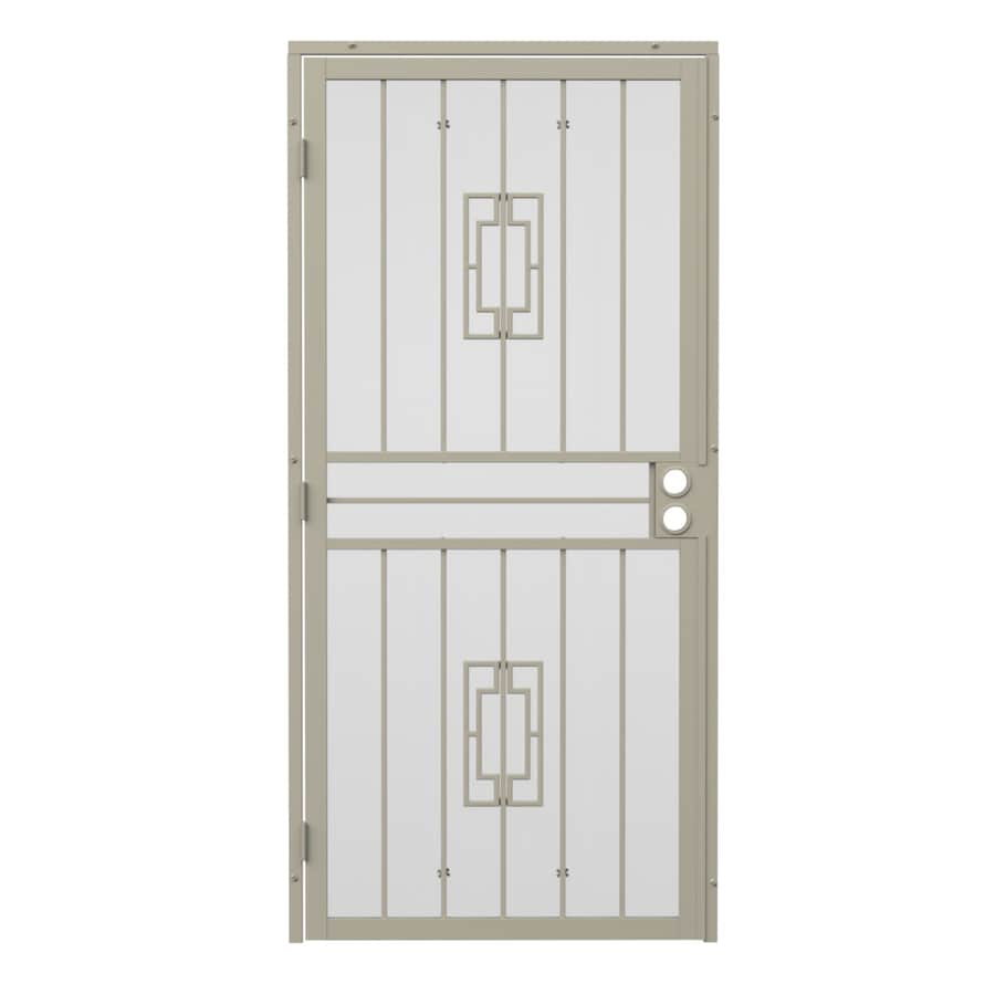 Gatehouse Steel Surface Mount Single Security Door (Common: 32-in x 80-in; Actual: 35-in x 81.75-in)