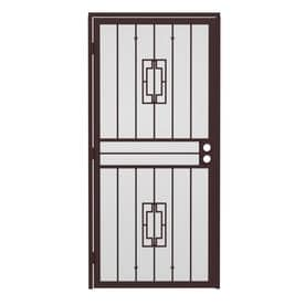 Gatehouse Steel Surface Mount Single Security Door (Common: 32-in x 81-