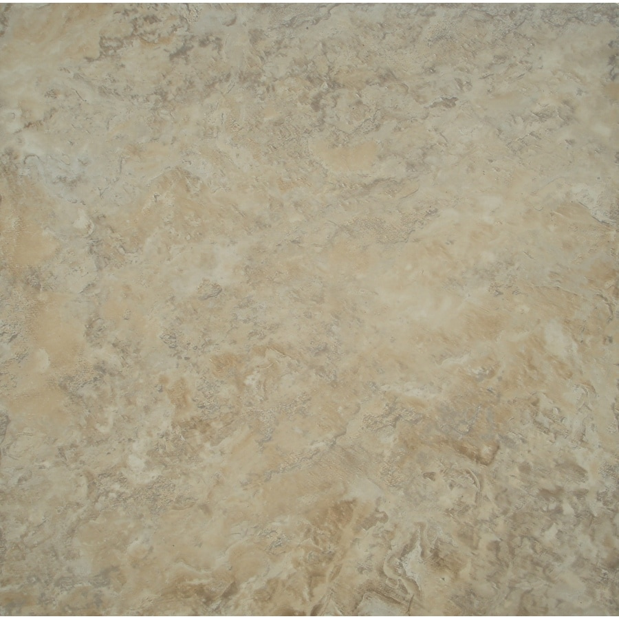 STAINMASTER 1-Piece Cream Peel-And-Stick Stone Commercial/Residential Vinyl Tile