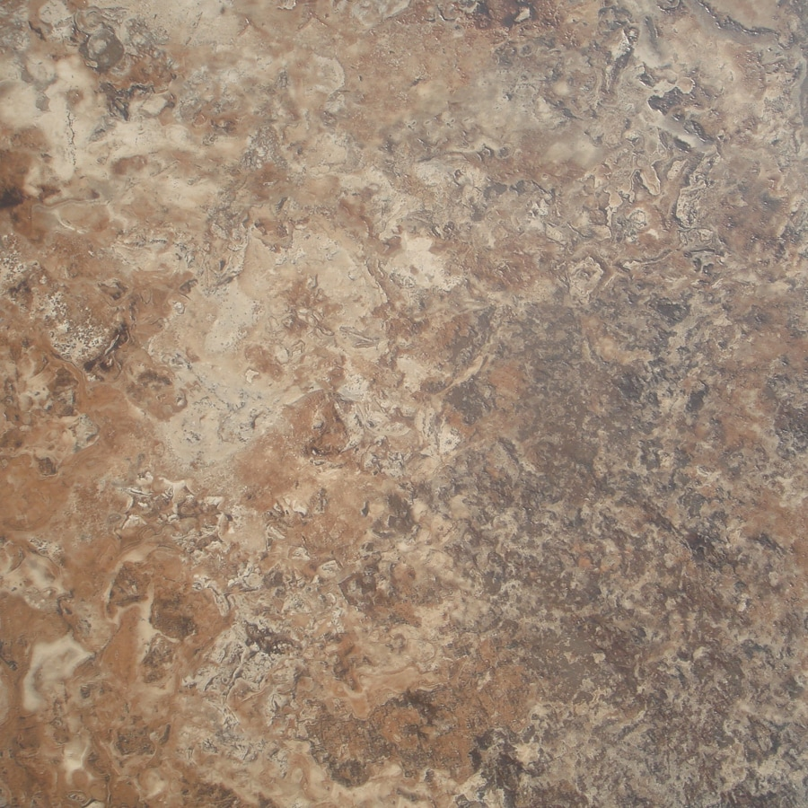 STAINMASTER 1-Piece Brown Peel-And-Stick Stone Commercial/Residential Vinyl Tile