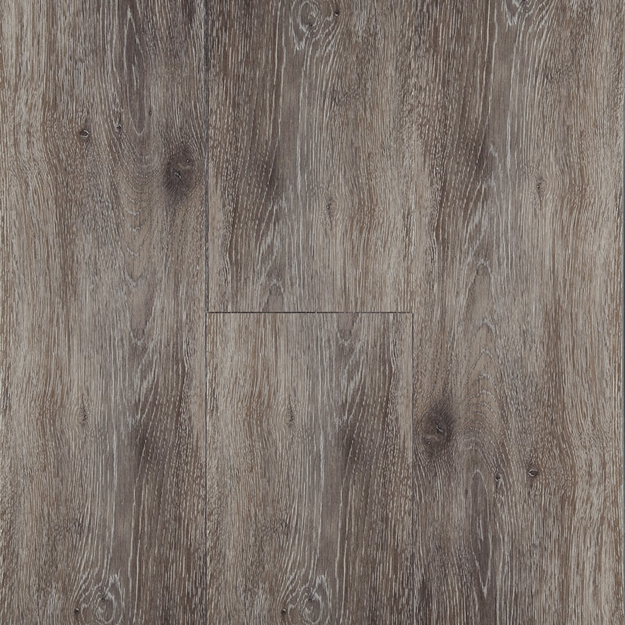 STAINMASTER 10-Piece 5.74-in x 47.74-in Washed Oak- Umber Locking Luxury Commercial/Residential Vinyl Plank