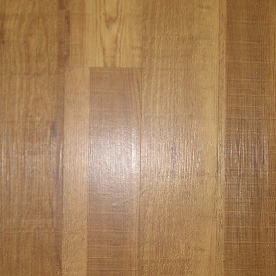 Shop Style Selections 4 In X 36 In Caramel Roughcut Peel And Stick Oak Residential Vinyl Plank