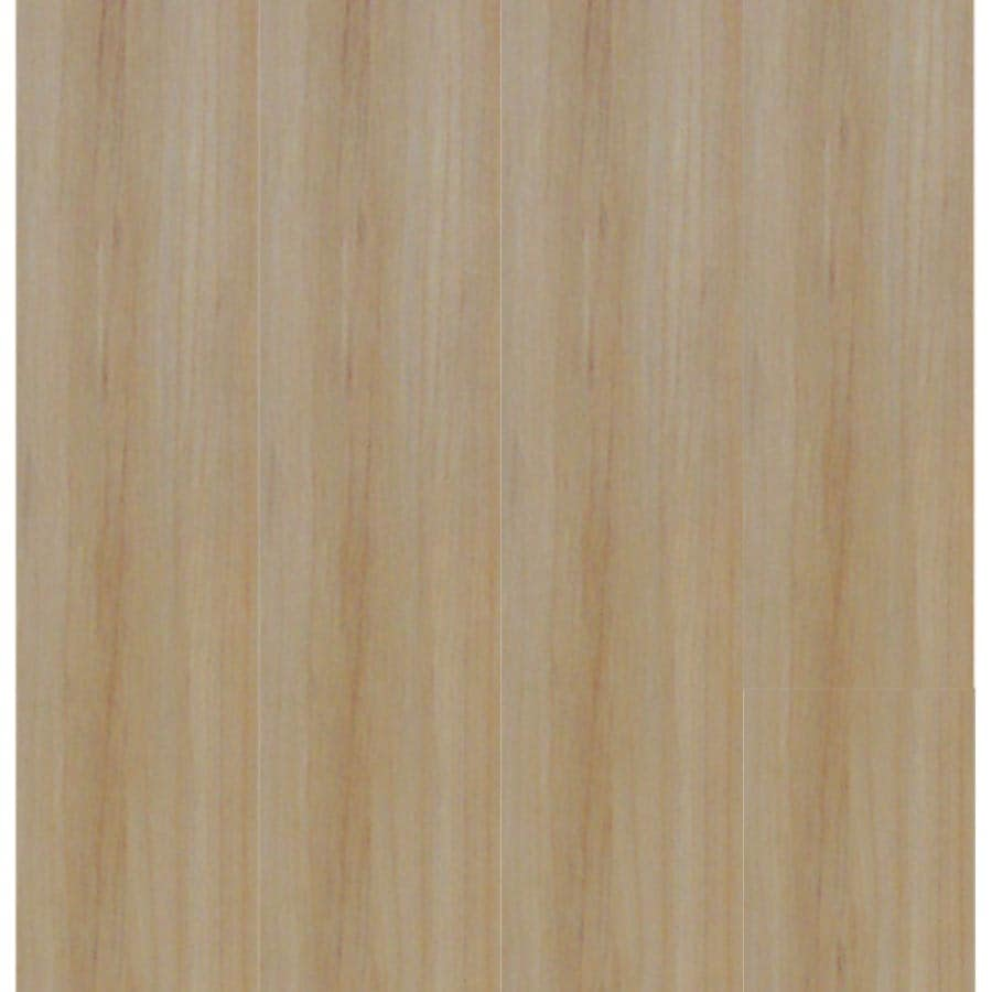 Style Selections 4-in x 36-in Sunlit Peel-and-Stick Maple Residential Vinyl Plank