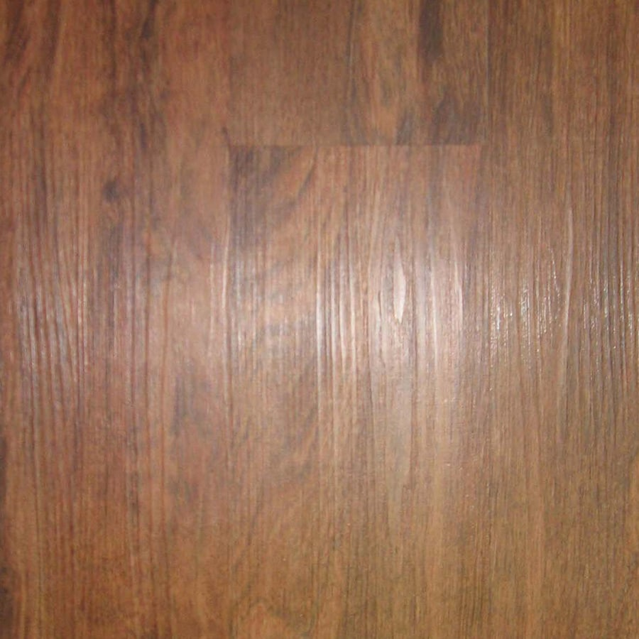 Shop Style Selections 6 In X 48 In Cherry Peel And Stick Residential Vinyl Plank At