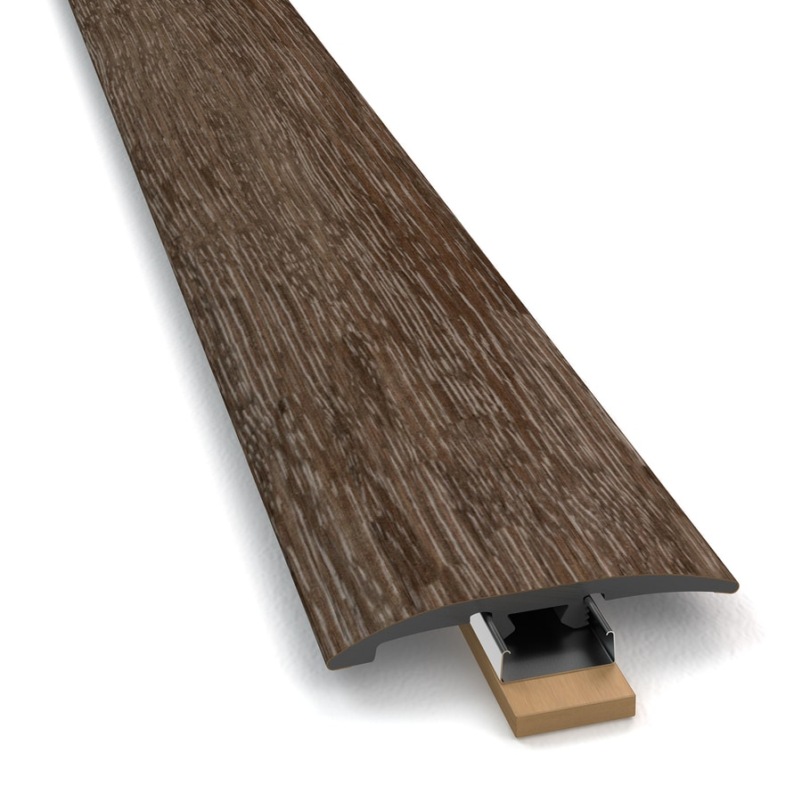 STAINMASTER Washed Oak 3-1 Umber 2-in W x 94-in L PVC Tile Edge Trim