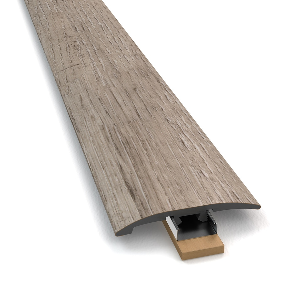 STAINMASTER Washed Oak 3-1 Cottage 2-in W x 94-in L PVC Tile Edge Trim