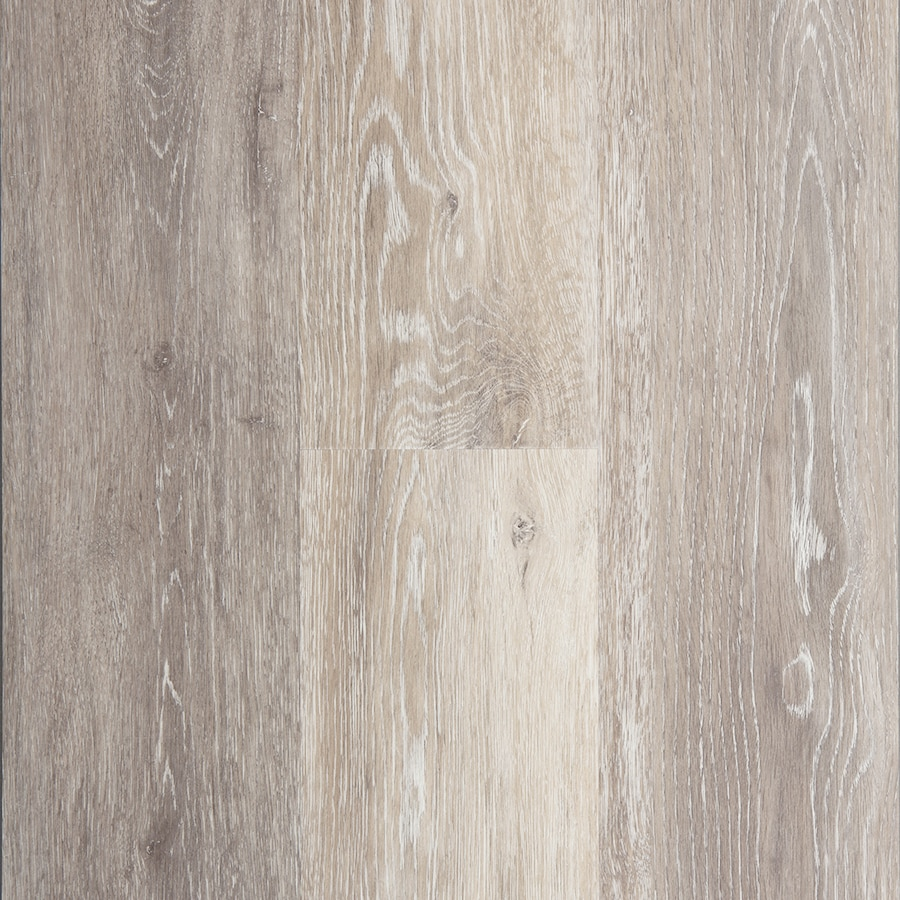 STAINMASTER 10-Piece 5.74-in x 47.74-in Washed Oak - Dove/Gray Locking Luxury Residential Vinyl Plank