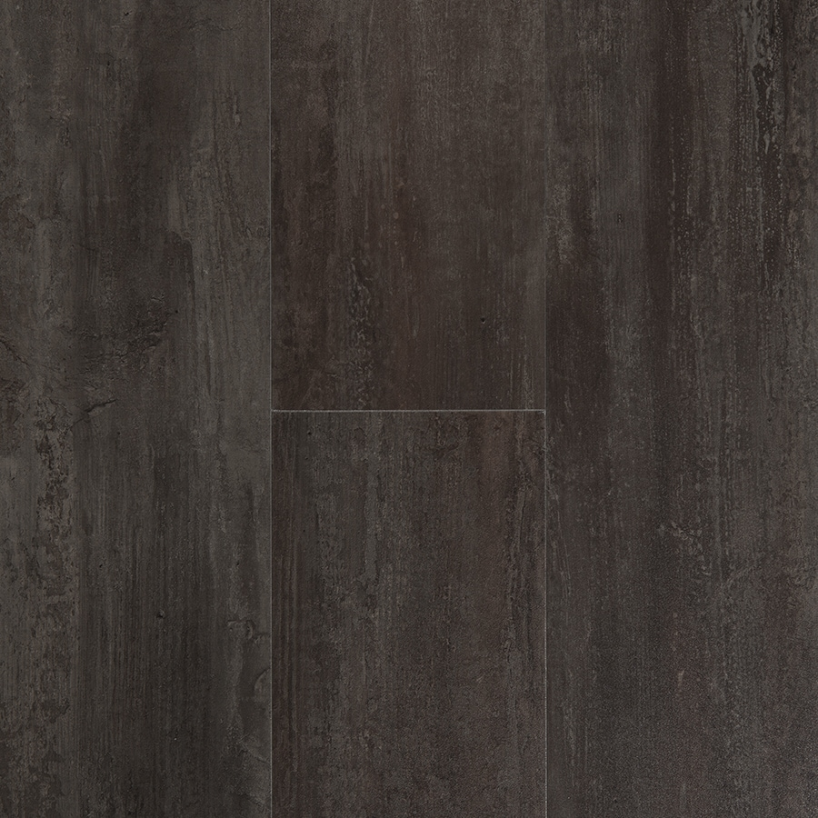 Shop stainmaster stainmaster 1 piece 6 in x 24 in for Grey brown floor tiles