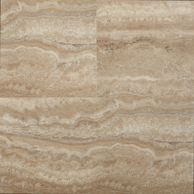 STAINMASTER Stainmaster 1-piece 12-in x 24-in Groutable Nantucket Peel and Stick Luxury Vinyl Tile
