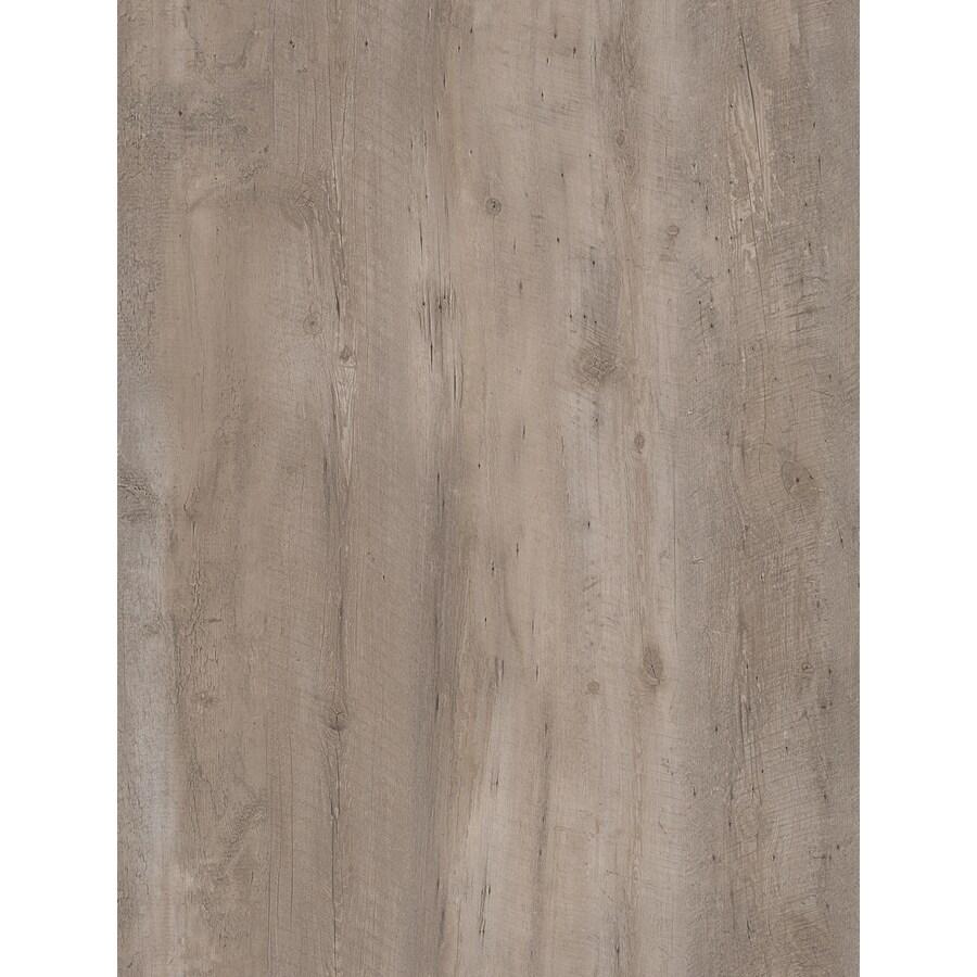 STAINMASTER 10-Piece 6-in x 48-in Aspen Ridge/Gray Glue (Adhesive) Luxury Vinyl Plank Light Commercial/Residential Vinyl Plank