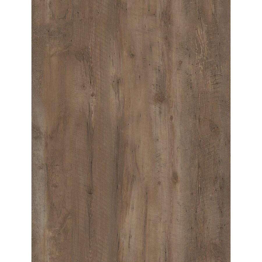 STAINMASTER 10-Piece 6-in x 48-in Charlestowne/Brown Glue (Adhesive) Luxury Vinyl Plank Light Commercial/Residential Vinyl Plank