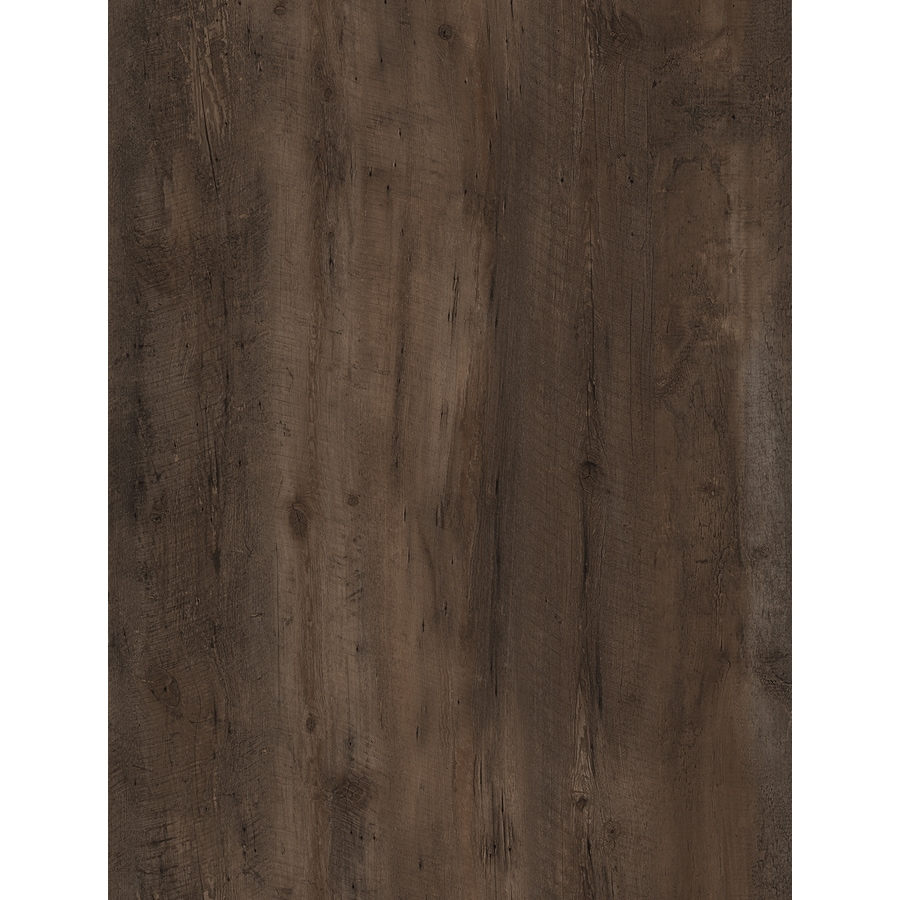 STAINMASTER 10-Piece 6-in x 48-in Walnut Grove/Brown Glue (Adhesive) Luxury Vinyl Plank Light Commercial/Residential Vinyl Plank