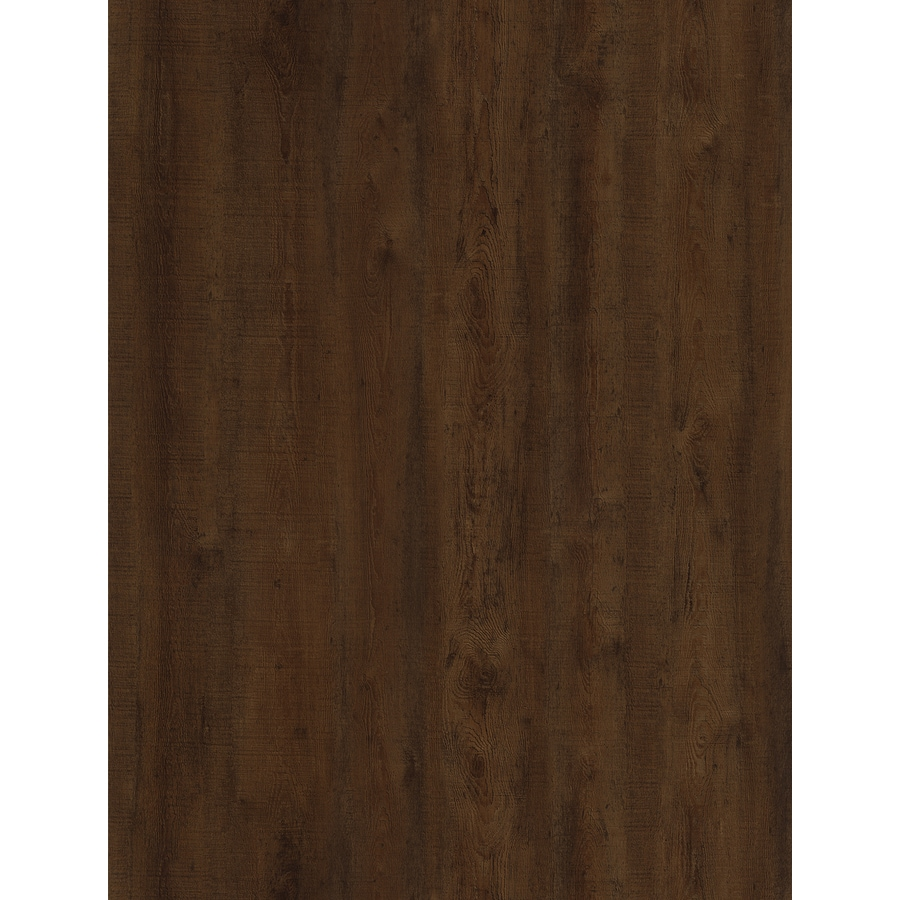 STAINMASTER 10-Piece 6-in x 48-in Lincoln/Brown Glue (Adhesive) Luxury Vinyl Plank Light Commercial/Residential Vinyl Plank