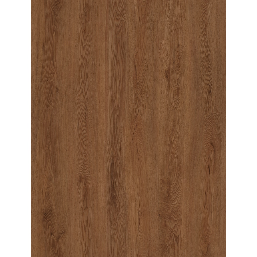 STAINMASTER 10-Piece 6-in x 48-in Oakridge/Brown Glue (Adhesive) Luxury Vinyl Plank Light Commercial/Residential Vinyl Plank