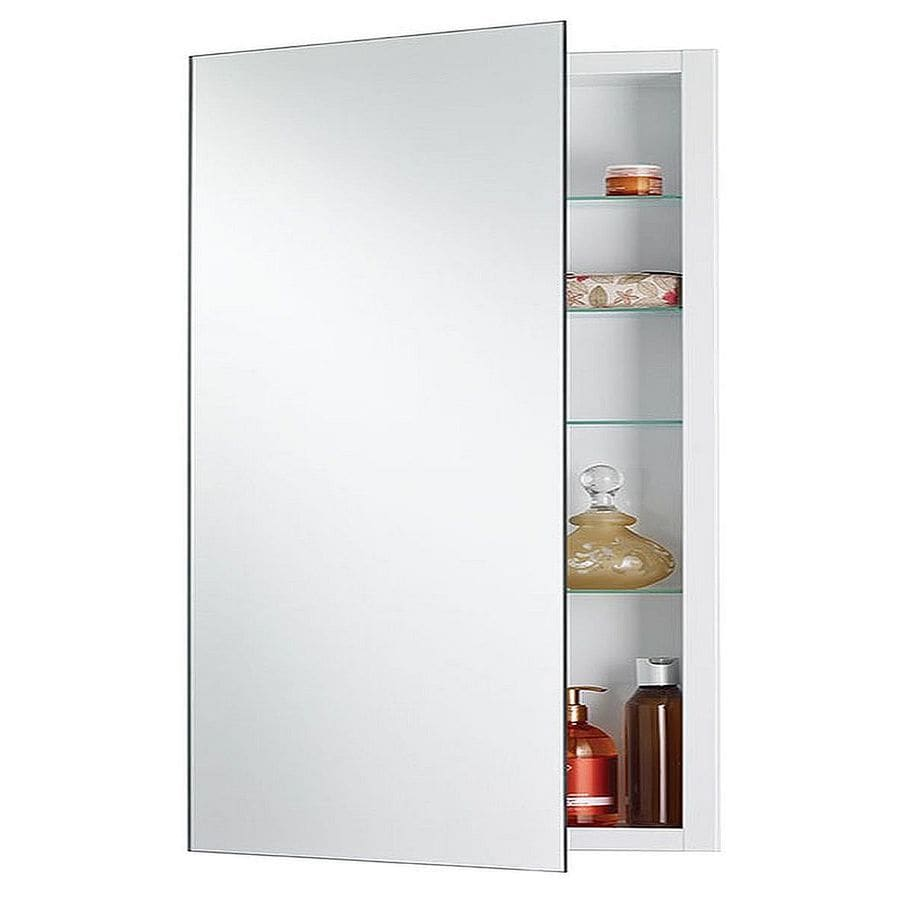 Jensen Cove 16 In X 36 In Rectangle Recessed Mirrored